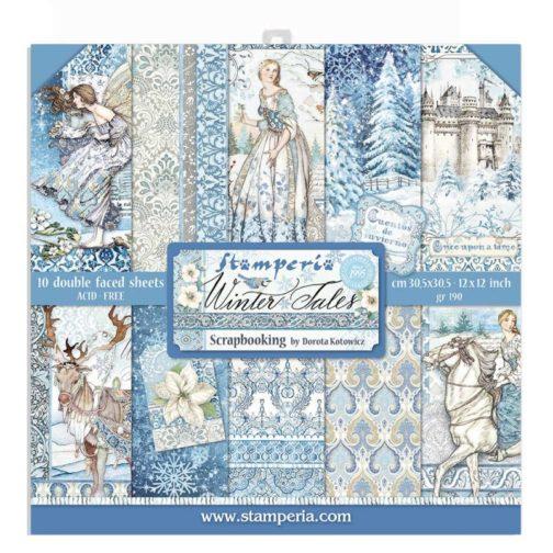 blok-papierow-winter-tales