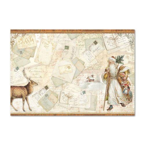 papier-ryzowy-mikolaj-renifer-pocztowki