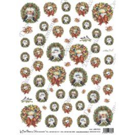 Papier Ryżowy WIANKI 35x25cm Decomania