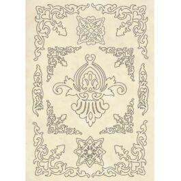 Dekory drewniane PRINCESS A5 Stamperia
