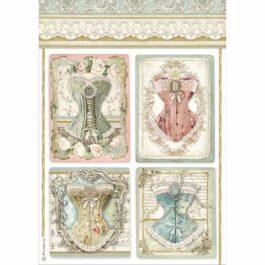 Papier ryżowy GORSETY A4 Princess Stamperia