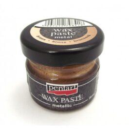 Pasta woskowa metaliczna BRĄZ Pentart