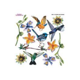 Folia do sospeso BIRD & FLOWERS 3D