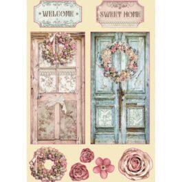 Dekory drewniane PASSION HOME A5 Stamperia