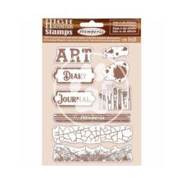 Stempel kauczukowy ATELIER ART I OKOLICE 14x18cm Stamperia