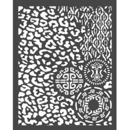 Szablon 3D 20x25cm AMAZONIA CĘTKI I INNE Stamperia
