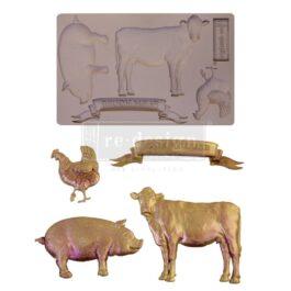 Foremka silikonowa FARM ANIMALS 20×13 Prima