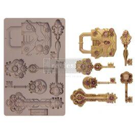 foremka-silikonowa-MECHANICAL-LOCK-&-KEYS