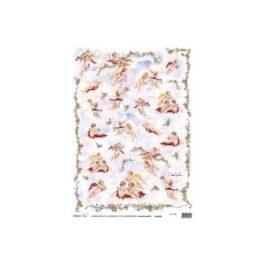 Papier Ryżowy AMORKI 35x50cm Decomania