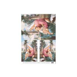 Papier Ryżowy MADONNA MAŁA 35x50cm Decomania