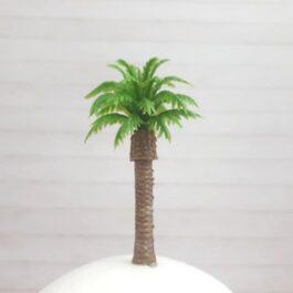 Drzewko mini PALMA KOKOSOWA 6cm