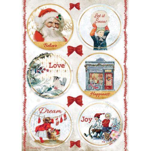 ROMANTIC CHRISTMAS 6 DEKORÓW