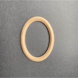 MDF Ramka owalna frezowana mała 10×7,5cm