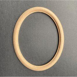 MDF Ramka owalna frezowana średnia 12,5x10cm