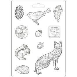 Foremka do odlewów FOREST LIST I SPÓŁKA 21×29,7cm Stamperia